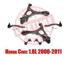 Front Lower Control Arms Outer Tie Rods & Sway Bar Links Civic 1.8L 2006-2011