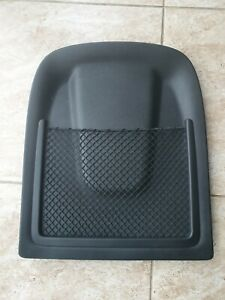 12-16 AUDI A6 FRONT SEAT BACK PANEL COVER BLACK 8R0881969