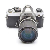 Nikon FM 35mm SLR Camera with Nikkor 43-86mm f/3.5 Lens c. 1977