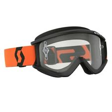 SCOTT RECOIL BRILLE MOTOCROSS ENDURO QUAD CROSS MX SX ATV KLAR SCHWARZ ORANGE
