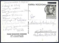 Poland 1949 Chopin card Stalin 70th Birthday greetings