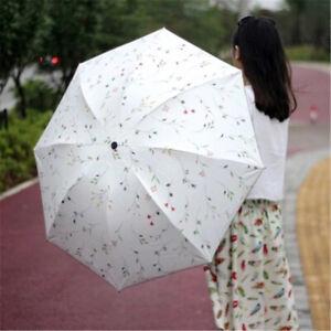Ombrelle Anti UV Parapluies Femme Parasol Pliant été Sun Proof Protection ML