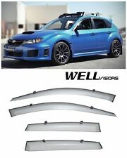 For 08-14 Subaru Impreza WRX WellVisors Side Window Visors Premium Series