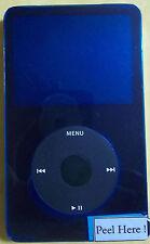 Apple iPod Classic 5.5th Gen Black 30GB MA446LL/A AAC WAV MP3 Video Player GR. A