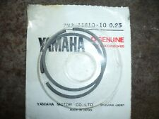 groupe electrogene YAMAHA et 900 et900 segment de Piston 7n2-11610-10 0,25