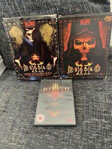 Bundle Of Diablo 2 & 3 PC Games Expansion Set Joblot