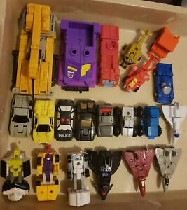 Transformers G1 1988 micromasters collection