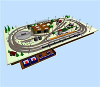 HORNBY OO GUAGE SOFTWARE - DESIGN & BUILD MODEL RAILWAY TRACK LAYOUT PLANS CAD