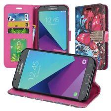 Fundas y carcasas color principal multicolor de piel para teléfonos móviles y PDAs Samsung