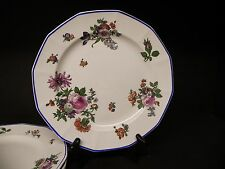 Circa 1912 Royal Doulton D3823 Floral Pattern Dinner Plates (Set of 4) ..