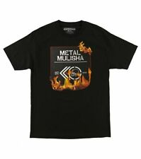 Metal Mulisha Mens Patch Tee T-shirt Size M