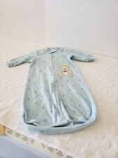 Little Me Baby Boy Coverall Outfit  Set Size 0-9  Months Blue Stars With Bear