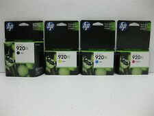 HP 920XL Ink CD972AN CD973AN CD974AN CD975AN Genuine * SHIPS OVERBOXED * Expired