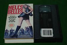 HELLS BELLES  biker  movie  1969  VIDEO VHS NTSC USA FORMAT  deleted video rare