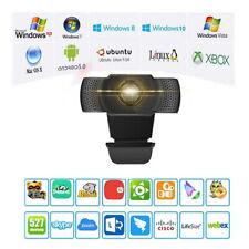 1080p Full HD 30FPS Webcam USB2.0 mit Mikrofon Webkamera für Laptop  PC DHL