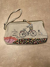 Natural Life Life Is Beautiful Clutch Purse New With Tags