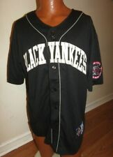 NLBM Negro Leagues Baseball Jersey New York Black Yankees Mens L