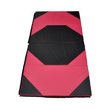 Super Large 300cm x 120cm BLACK/RED Gymnastics Folding Gym Yoga Exercise Mat