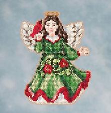 Cross Stitch Kit - Mill Hill / Jim Shore - Angel with Cardinal JS20-1615