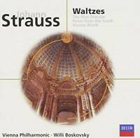 Strauss: Waltzes - Audio CD By Jr. Johann Strauss - VERY GOOD