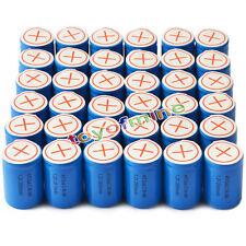 36x Ni-Mh 4/5 SubC Sub C 1.2V 2800mAh Batería recargable con Tab Azul