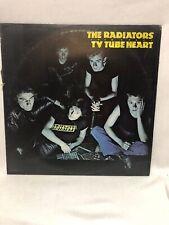 RADIATORS FROM SPACE TV TUBE HEART 1977 UK LP Chiswick NEAR MINT Vinyl