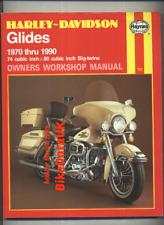Harley Glides (1970-1990) Haynes Manual Shovel Head Evolution Electra FL FX BY77