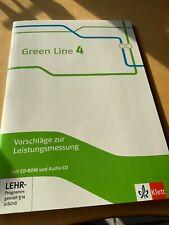 Green Line 4. Vorschläge zur Leistungsmessung