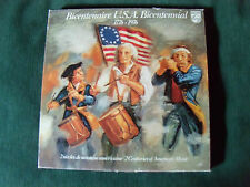 BICENTENAIRE U.S.A. BICENTENNIAL - 1776-1976 - 10 LP promo copy PHILIPS 6747273