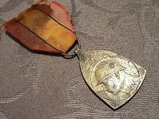 Médaille décoration honneur militariat GUERRE 1914-1918 Belgique Medal