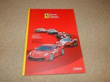 Very rare 2006 Ferrari Corse Clienti F1 FXX F430 sales brochure # 2374/06 OEM