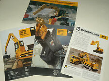 Lot 4 Catalogue CATERPILLAR Pelle Excavator  brochure prospectus TP tractor