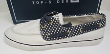Sperry Top Sider Size 9.5 White Boat Shoes New Womens Sneakers