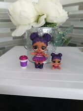 LOL Surprise Doll - Series 2 Glitter Purple Queen & Lil Sister