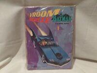"""VINTAGE-RARE 1966 """"BATMAN"""" COLORING BOOK-""""VROOMSCREEE"""