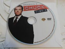 Chuck Third Season 3 Disc 3 Replacement DVD Disc Only 63-382