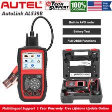Autel AutoLink AL539B Auto Full OBD2 Functions Code Reader Battery Circuit Test