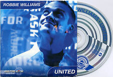 ROBBIE WILLIAMS United +Interview 3 tr UK 2000 Pepsi PROMO ONLY CDS Ask For More
