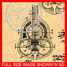 NATIONAL RESONATOR GUITAR Patent-Resophonic 2 of 2 #731