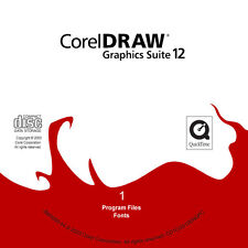 Corel Graphics Suite 12 cd