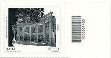 2012 francobollo Terme di Bonifacio VIII in Fiuggi DX BARRE 1485