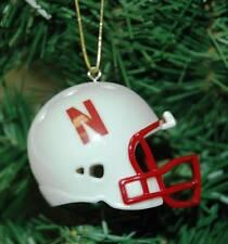 Nebraska Cornhuskers Football Helmet Christmas Ornament