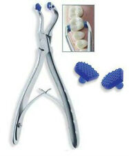 Temporary Crown Remover Forceps with 2 Soft Pads tip