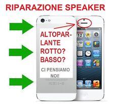 CENTRO ASSISTENZA RIPARAZIONE ALTOPARLANTE IPHONE 5, 5S, 6, 6 PLUS, SPEAKER KO