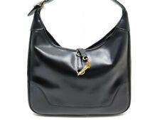 870df704d0 VINTAGE SAC A MAIN HERMES TRIM 30 CUIR NOIR BLACK HAND BAG LEATHER PURSE  3700€