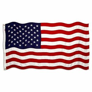 US USA AMERICAN STARS & STRIPES AMERICA NATIONAL 5 X 3FT FANS SUPPORTERS FLAG