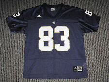 VINTAGE - NOTRE DAME - #83 FOOTBALL JERSEY - ADIDAS - YOUTH XL - Jeff Samardzija