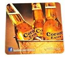 Corona Extra Cerveza Bier Posavasos de Base EE.UU. Coaster tres Botellas Motivo