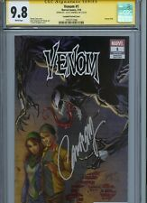Venom #1 Campbell Variant Cover Cgc 9.8 Ss Signed By J Scott Campbell