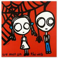 "Todd Goldman ""We Met On The Web"" Signed Limited Edition Lithograph On Paper"